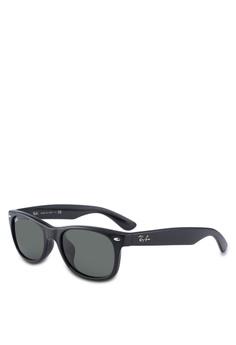 7a6303cf230 Ray-Ban black Icons RB2132F Sunglasses A7DCDGLF73F93DGS 1