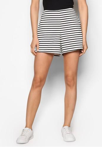 條紋短esprit 童裝褲, 服飾, 短褲