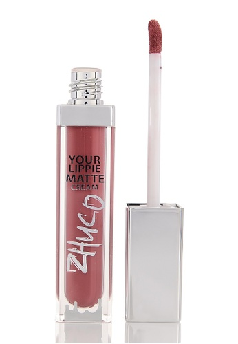 Zhuco Cosmetics purple Lippie Matte Cream 22 Move On ZH711BE0S2I6MY_1