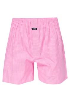 Checkered Boxer Shorts