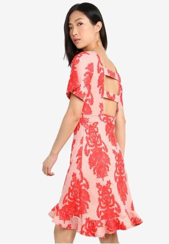 Megane red Red Romance Louella Dress 579A3AAB53C68CGS_1