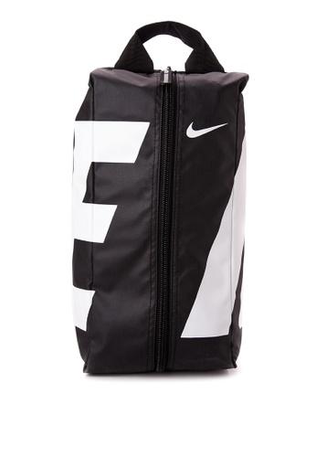 Nike black and white Men's Nike Alpha Adapt Shoe Bag NI126AC90MMBPH_1