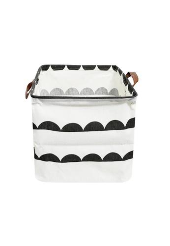 HOUZE HOUZE - Laundry Bag (Small) - Semi Circles 04458HL942C978GS_1