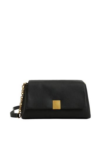 Mango black Flap Chain Bag BCC22AC91F2CC8GS_1