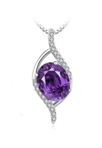 LYCKA silver LPP88148 S925 Silver Necklace 81682AC5D3D7D4GS_1