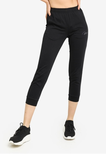361° black Running Series Knit Cropped Pants 5FED4AAB1987B7GS_1