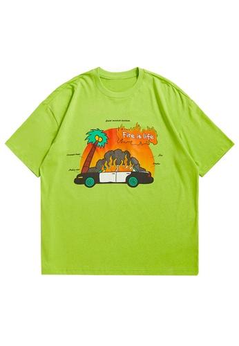 Twenty Eight Shoes Trend Printed Short T-shirt 1658S21 1BC4FAAAC7F5BAGS_1