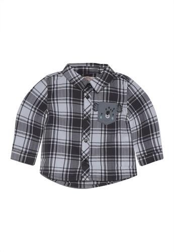 DU PAREIL AU MÊME (DPAM) multi Check Shirt 27710KAD24EAFEGS_1