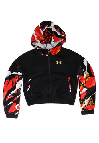 Under Armour black UA CNY Rival Fleece Jacket C8F5BKAB30B3F0GS_1