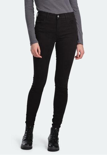 Levi's black Levi's 720 High Rise Super Skinny Jeans 52797-0178 FB5FAAAABF389EGS_1