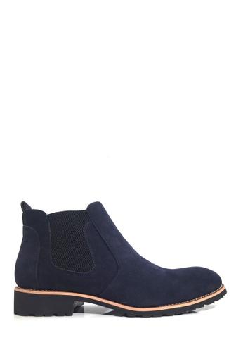 Twenty Eight Shoes 藍色 橡筋男裝短靴 VM2566 30B85SH099379AGS_1