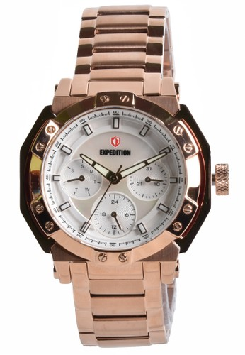 Expedition gold Expedition - Jam Tangan Wanita - Rosegold - Stainless Steel Bracelet - 6385BFBRGSL 3221CAC471EBECGS_1