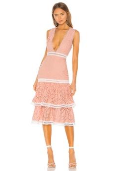 90d17d07a009d7 X by NBD pink Laila Midi Dress(Revolve) 9C951AA97F6671GS_1