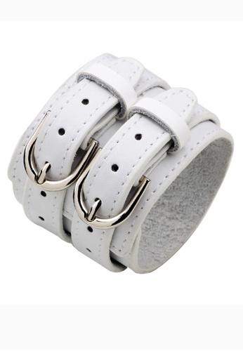 HAPPY FRIDAYS Vintage Leather Double Belt bracelet QNW2300 D75D6AC1A548FFGS_1