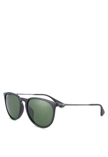 Ray-Ban black Erika RB4171F Polarized Sunglasses RA896GL49ULYMY_1