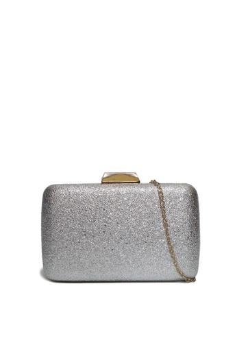 Dazz silver Foil Evening Clutch - Silver DA408AC36IZJMY_1