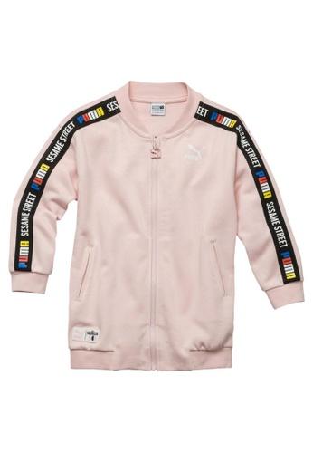 PUMA PUMA x SESAME STREET Girl's Full Zip Jacket 854491