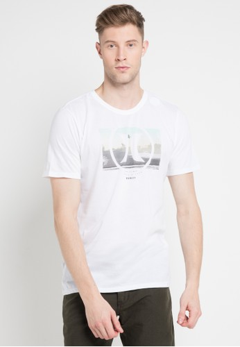 hurley white and multi Tropic Dri-Fit T-Shirt D229FAAE2589A0GS_1