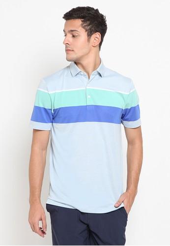 Jack Nicklaus blue and grey Calgary Premium Polo Shirt C8839AA2AE5EA5GS_1