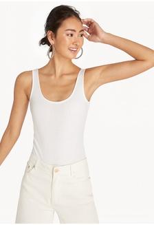Buy Pomelo Ruffled Strap Bodysuit - Olive Online  235534592