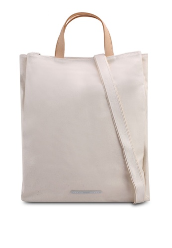 Rawrow white Rugged 206 Triple Tote Bag A7EDEAC911F649GS_1