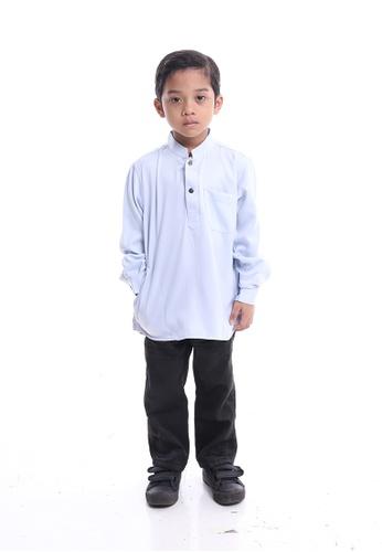Denai Boutique white Kurta Ahmad 30A58KA1B984F2GS_1