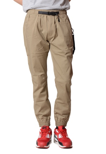 Praise brown Jogger Pant 06460AA3F47BE8GS_1