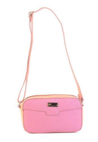 AR by Alfio Raldo pink AR By Alfio Raldo AB-2316 Sling Bag Pink 3B107ACF32F8DFGS_1