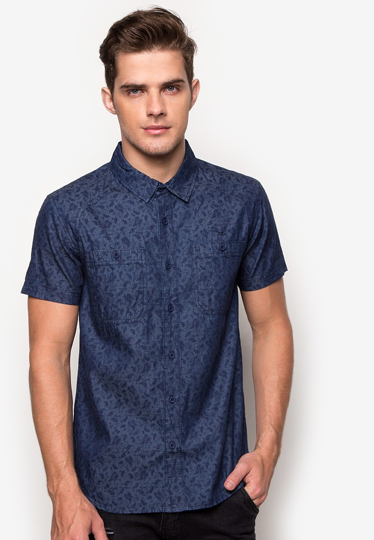 Mens Printed Shortsleeve Shirt