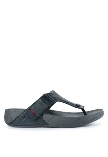 Fitflop navy Trakk Ii In Leather 94B8CSH6670AB1GS_1