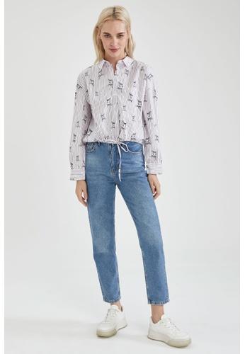 DeFacto pink Long Sleeve Shirt D6E4DAA2425812GS_1
