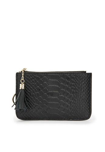 HAPPY FRIDAYS Snake Texture Leather Wallet JN5663 D9E9EAC7325616GS_1