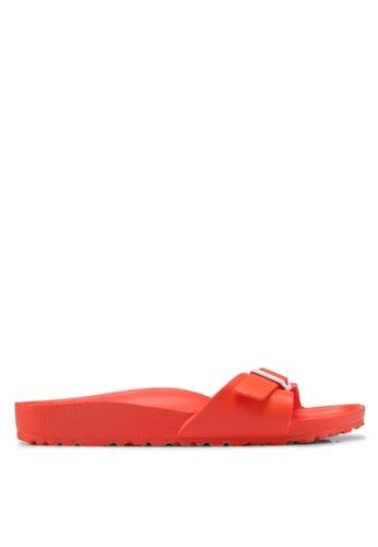 Birkenstock orange Madrid Eva Sandals 4FCA3SH9B2F8D4GS_1