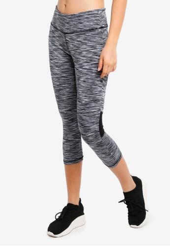 UniqTee black Printed Yoga Pants 41CADAA297F9FEGS_1