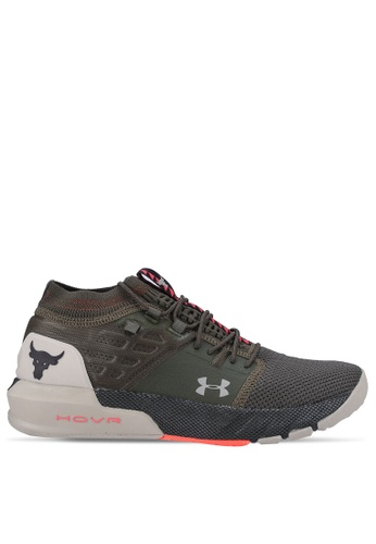 Under Armour green UA Project Rock 2 Print 2BF51SH65FD619GS_1
