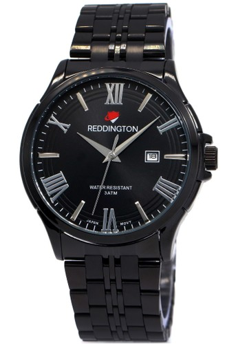 Reddington 8405 - Jam Tangan Wanita - Full Hitam - Stainless Steel