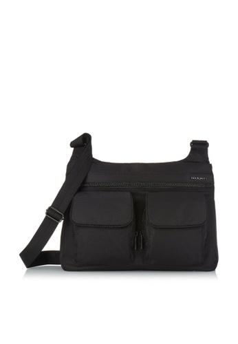 Hedgren black Hedgren Women Prarie Shoulder Bag Outside Pock Black - 7.2L 0F980ACF34C18EGS_1
