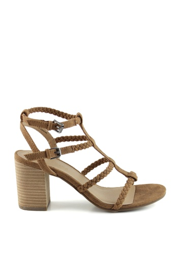 London Rag brown Gracie Gladiator sandals 32272SH5935301GS_1