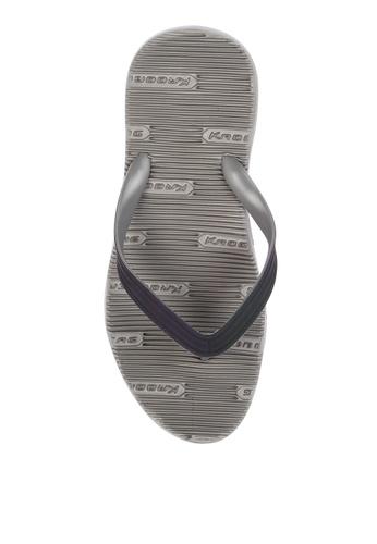 Krooberg grey Contour 9 Flip Flops 6FEA9SHB31FCB2GS_1