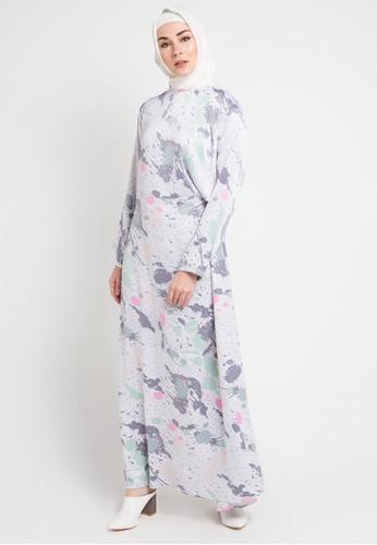 Jual Zumara Printed Gamis Dress Original Zalora Indonesia