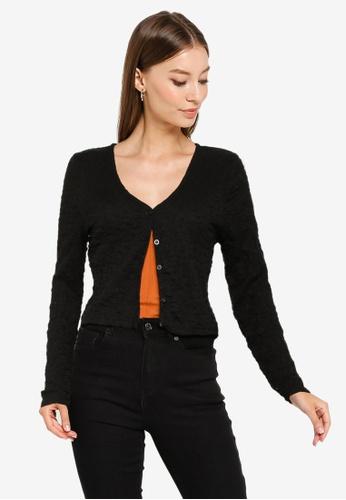 Cotton On 黑色 長袖罩衫 02D11AAE19E5F9GS_1