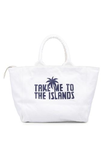 Guess white Beach Bag BE85CAC1CADE0AGS_1