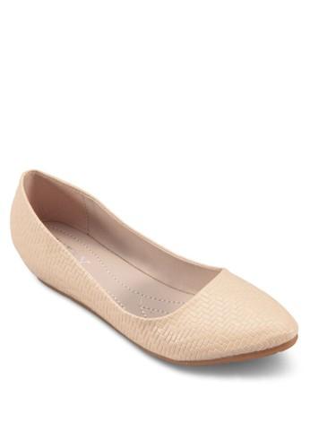 Embosseesprit官網d Flats, 女鞋, 鞋