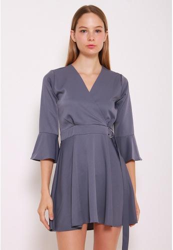 Leline Style blue Luna Flow Dress LE802AA0GKUQSG_1