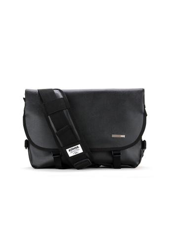 Peeps black Essential Messenger Bag F8B99AC6D974B2GS_1