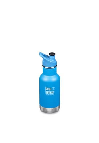 Klean Kanteen blue Klean Kanteen Insulated Kid Classic Water Bottle12Oz (With Kid Sport Cap) (Pool Party) 7FAC1ACA230D82GS_1