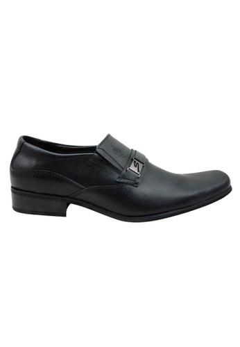 midzone black Leather Formal Dress Shoes MI949SH32ZUDMY_1