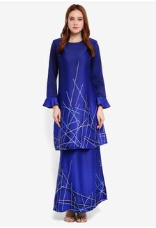 Batik Abstract Kurung Modern A1844AA57DDD00GS 1 28980930aa