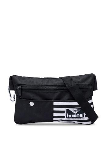 Hummel black Casper Hip Bag 6CDA5ACDF5D703GS_1
