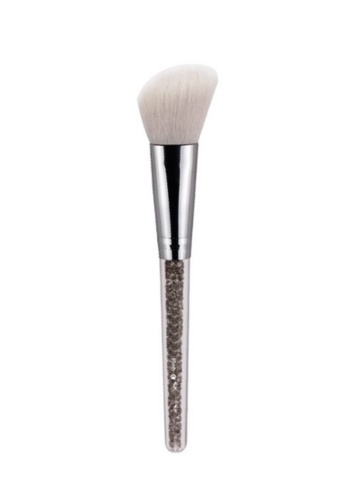 Pretty2u Grey Rhinestones Blush Brush - 713 PR716BE43DTOMY_1